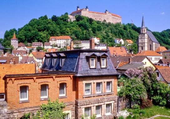 Kulmbach with Plassenburg Castle